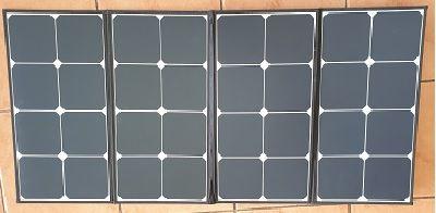 Solar panels and wind generators