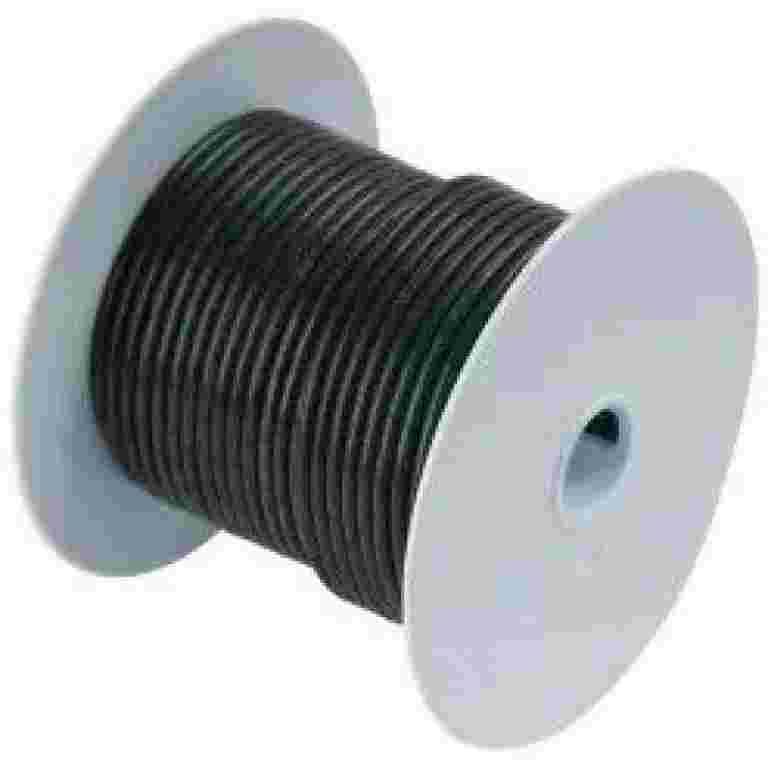 Ancor Tinned Copper Wire 6 AWG (13mm2) Black -250 Ancor Tinned Copper Wire 6 AWG (13mm2) Black -250 Thailand