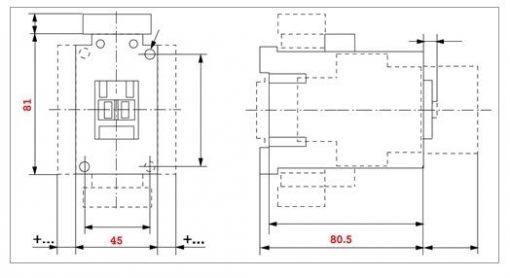 Sprecher + Schuh CA7-23-10 3-pole, 23 AMP contactor Sprecher + Schuh CA7-23-10 3-pole, 23 AMP contactor Thailand