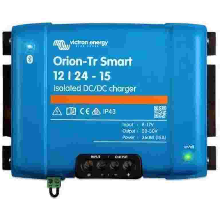 Orion-Tr Smart 12/24-15A (360W) Isolated DC-DC charger Orion-Tr Smart 12/24-15A (360W) Isolated DC-DC charger Thailand