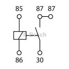 Bosch Single Contact 12 volt 30 amp Relay NO Bosch Single Contact 12 volt 30 amp Relay NO Thailand