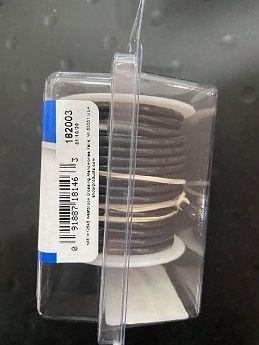 Tinned Copper Wire, 16 AWG (1mm2), Black - 25ft Tinned Copper Wire, 16 AWG (1mm2), Black - 25ft Thailand