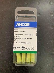 Nylon Butt Connector, 12-10, 5pc Nylon Butt Connector, 12-10, 5pc Thailand