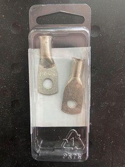 "Tinned Lug #6 1/4""pc Tinned Lug #6 1/4""pc Thailand"