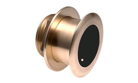 B164 1000W Depth & Temp Bronze Transducer 0º 50/200 kHz Flush (8 pin) B164 1000W Depth & Temp Bronze Transducer 0º 50/200 kHz Flush (8 pin) Thailand