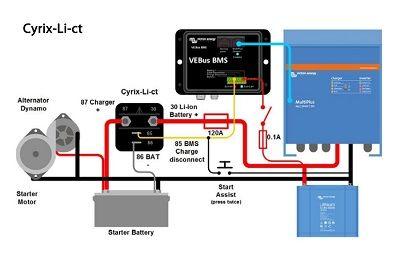 Cyrix-Li-ct 12/24V-120A combiner Cyrix-Li-ct 12/24V-120A combiner Thailand