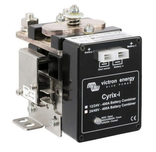 Cyrix-i Micro Processor Controlled Split Charge Relay - 400A (12-24V) Cyrix-i Micro Processor Controlled Split Charge Relay - 400A (12-24V) Thailand