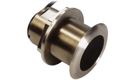 B60 600W Depth & Temp Bronze Through Hull Transducer with 12º Tilted Element B60 600W Depth & Temp Bronze Through Hull Transducer with 12º Tilted Element Thailand
