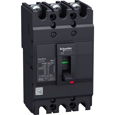 Schneider Circuit breaker Easypact EZC100F - TMD - 40 A - 3 poles 3d Schneider Circuit breaker Easypact EZC100F - TMD - 40 A - 3 poles 3d Thailand
