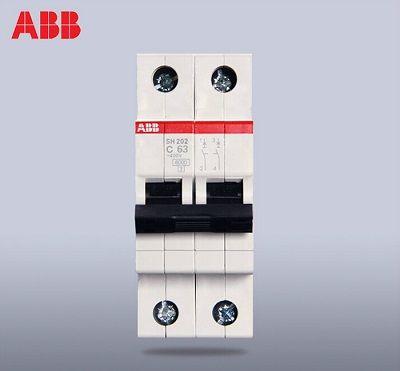 ABB System M Pro S200 MCB Mini Circuit Breaker 2P, 63 A, 6 kA, Curve C  DOUBLE POLE ABB System M Pro S200 MCB Mini Circuit Breaker 2P, 63 A, 6 kA, Curve C  DOUBLE POLE Thailand