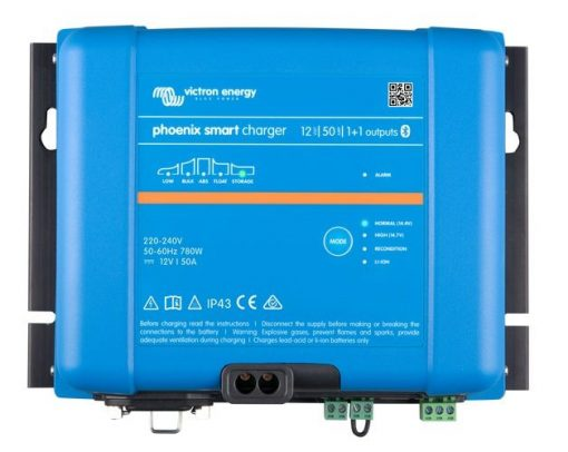 Phoenix Smart IP43 Charger 12V/50A (1+1) / 200-265VAC/65-65Hz or 250-350VDC Phoenix Smart IP43 Charger 12V/50A (1+1) / 200-265VAC/65-65Hz or 250-350VDC Thailand