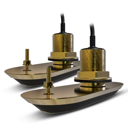 Pack of RV-220 RealVision 3D Bronze Thru Hull Txds, Port & Starboard 20°, Direct connect to AXIOM (2 Pack of RV-220 RealVision 3D Bronze Thru Hull Txds, Port & Starboard 20°, Direct connect to AXIOM (2 Thailand