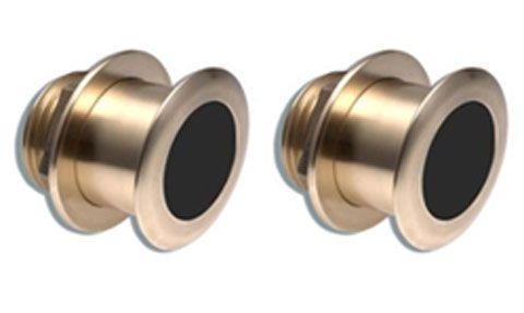 B75 Bronze Low Profile D/T Through Hull Medium (600W) - High (600W) Transducer pair 12 deg B75 Bronze Low Profile D/T Through Hull Medium (600W) - High (600W) Transducer pair 12 deg Thailand